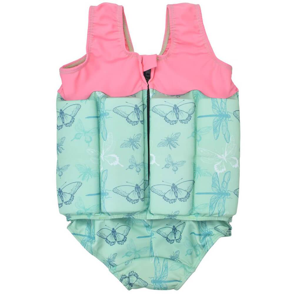 toddler girl float suit