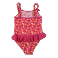 Floral one piece girl swimsuits