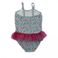 Cute cherry one piece swimsuit for girls
