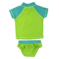 Rash guard sets for toddler girls