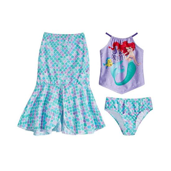 mermaid beachwear